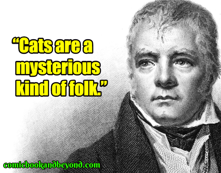 Walter Scott famous quotes