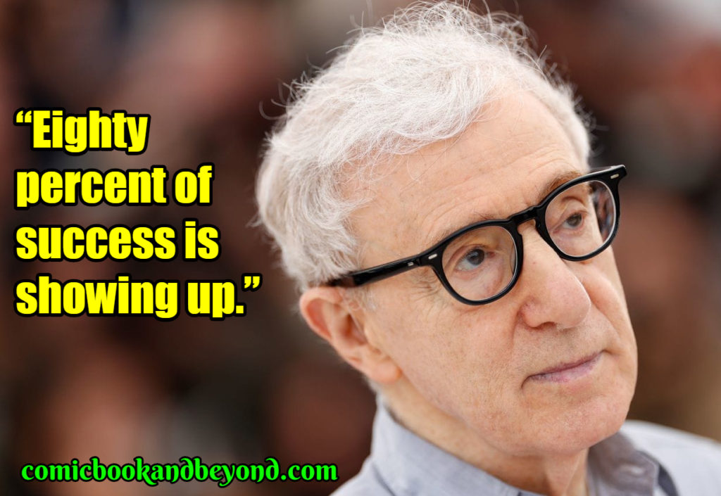 Woody Allen famous quotes