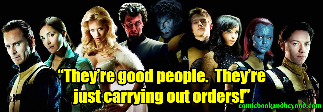 X-Men First Class Famous Quotes