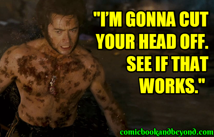 X-Men The Last Stand Sayings