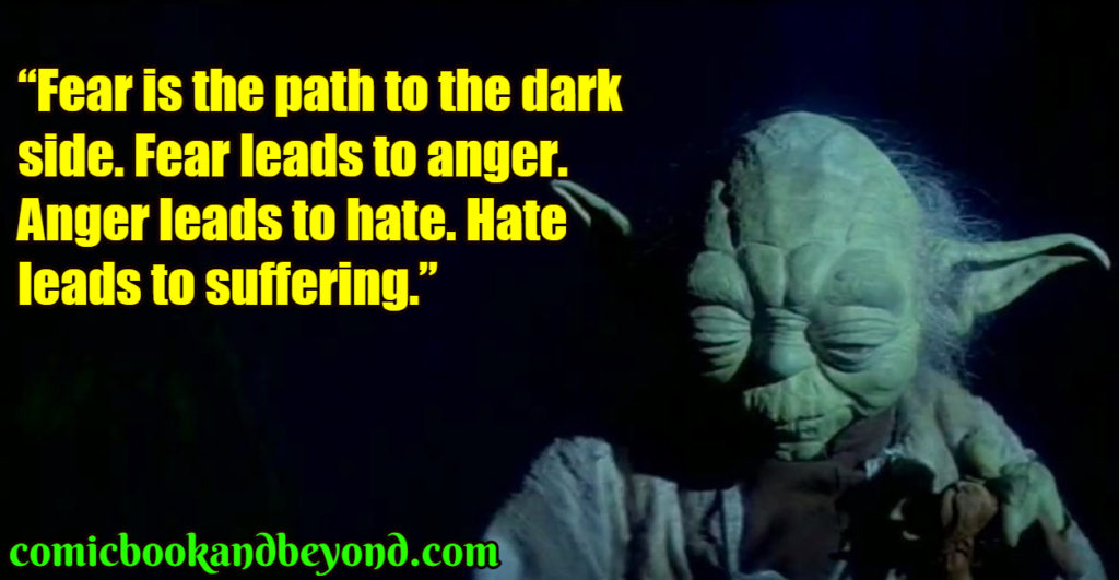 Yoda famous quotes