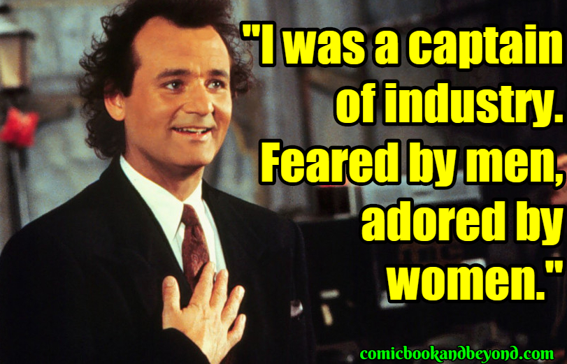 Scrooged Best Quotes