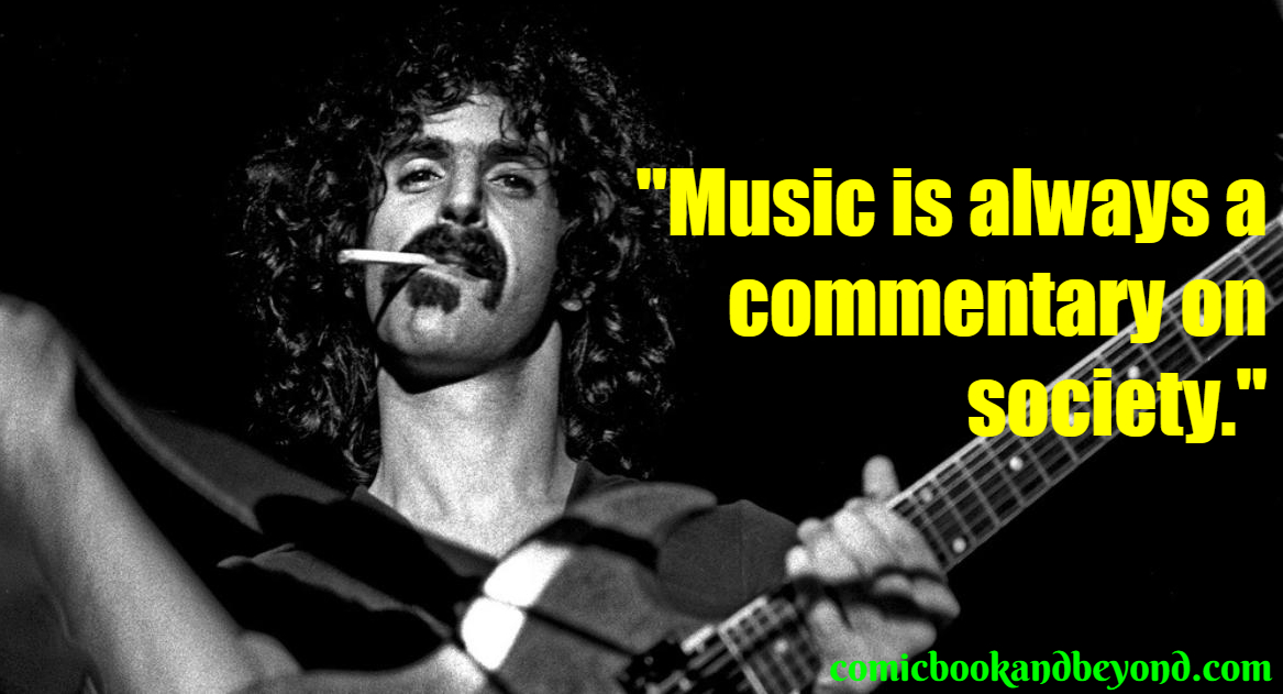 frank zappa Best Quotes