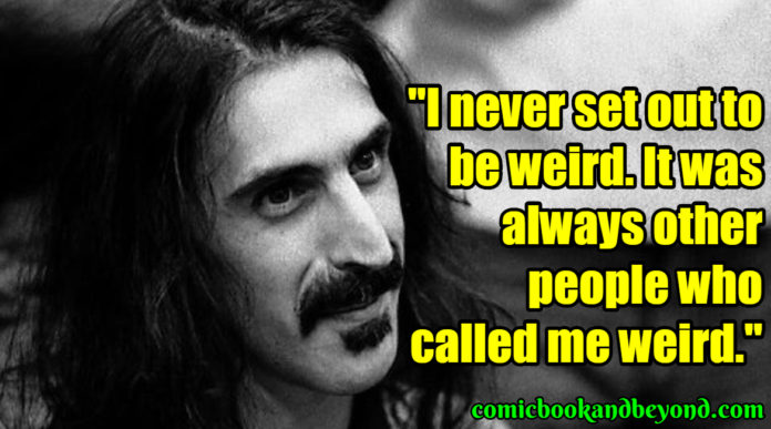 frank zappa Famous Quotes
