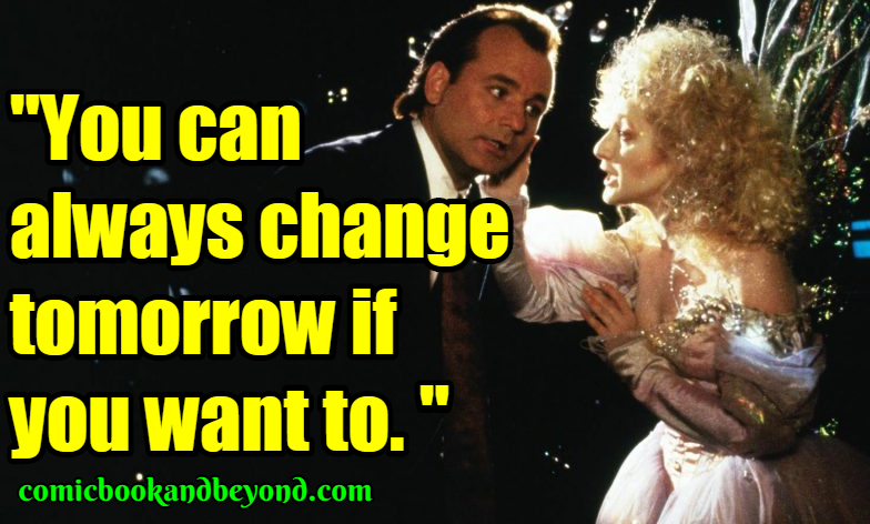 Scrooged Famous Quotes