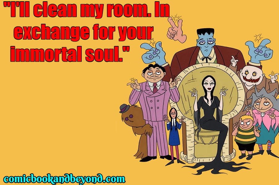 Addams Family popular Quotes (2)