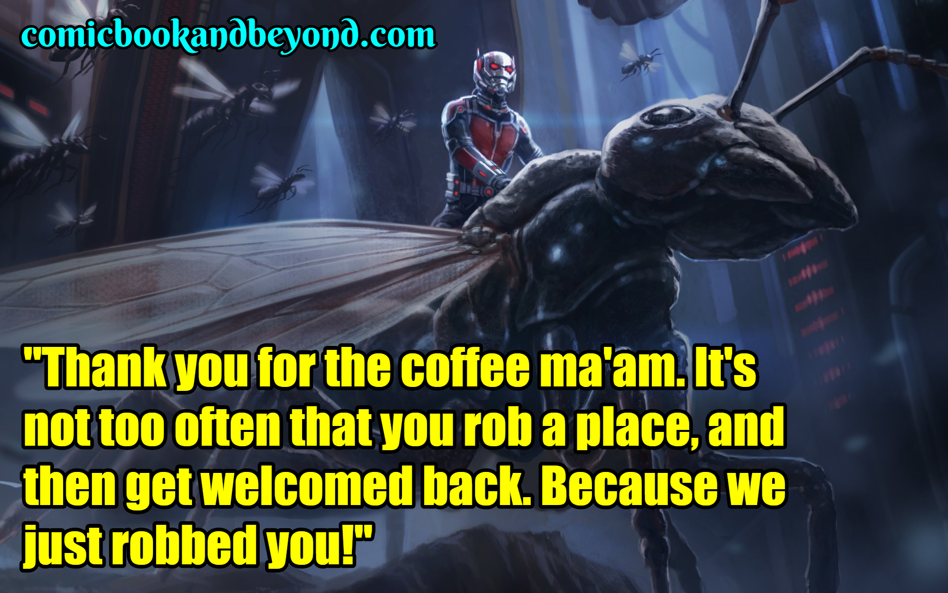 Ant-Man popular Quotes