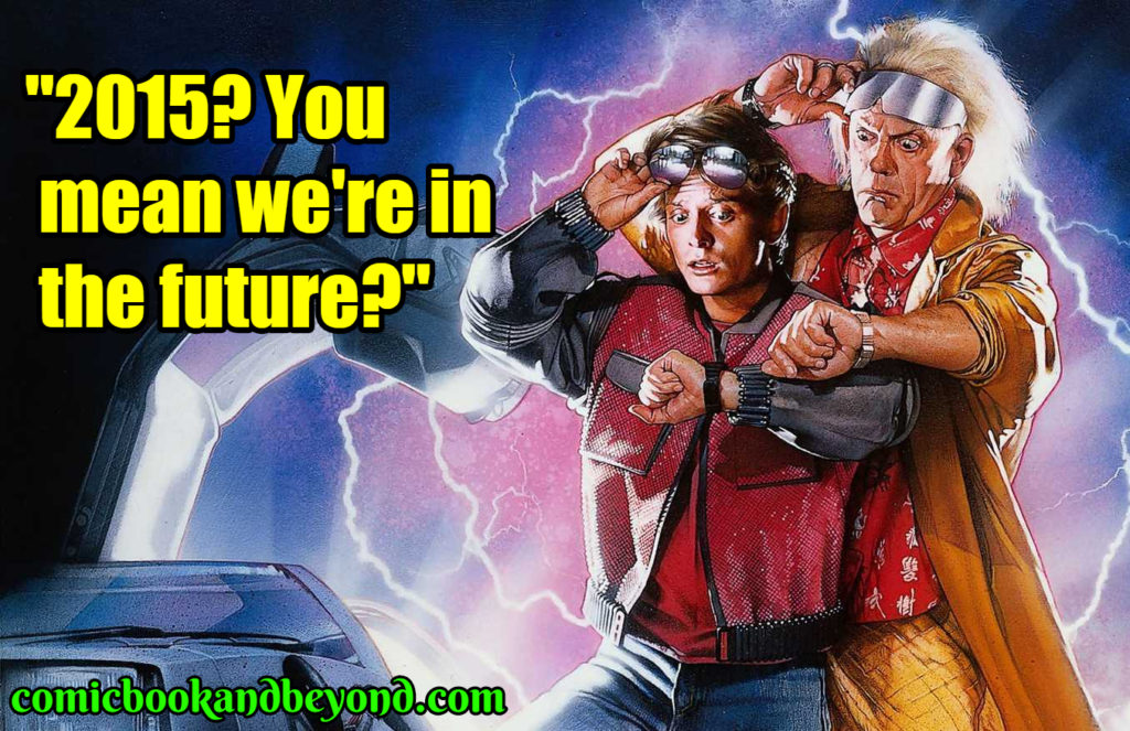 Back to the Future Part II saying