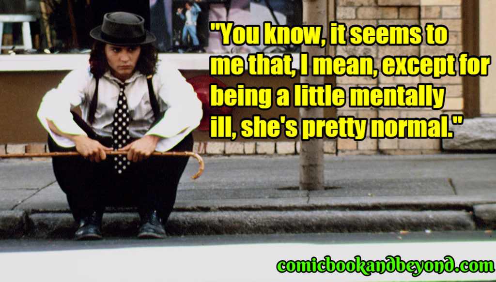 Benny & Joon famous quotes