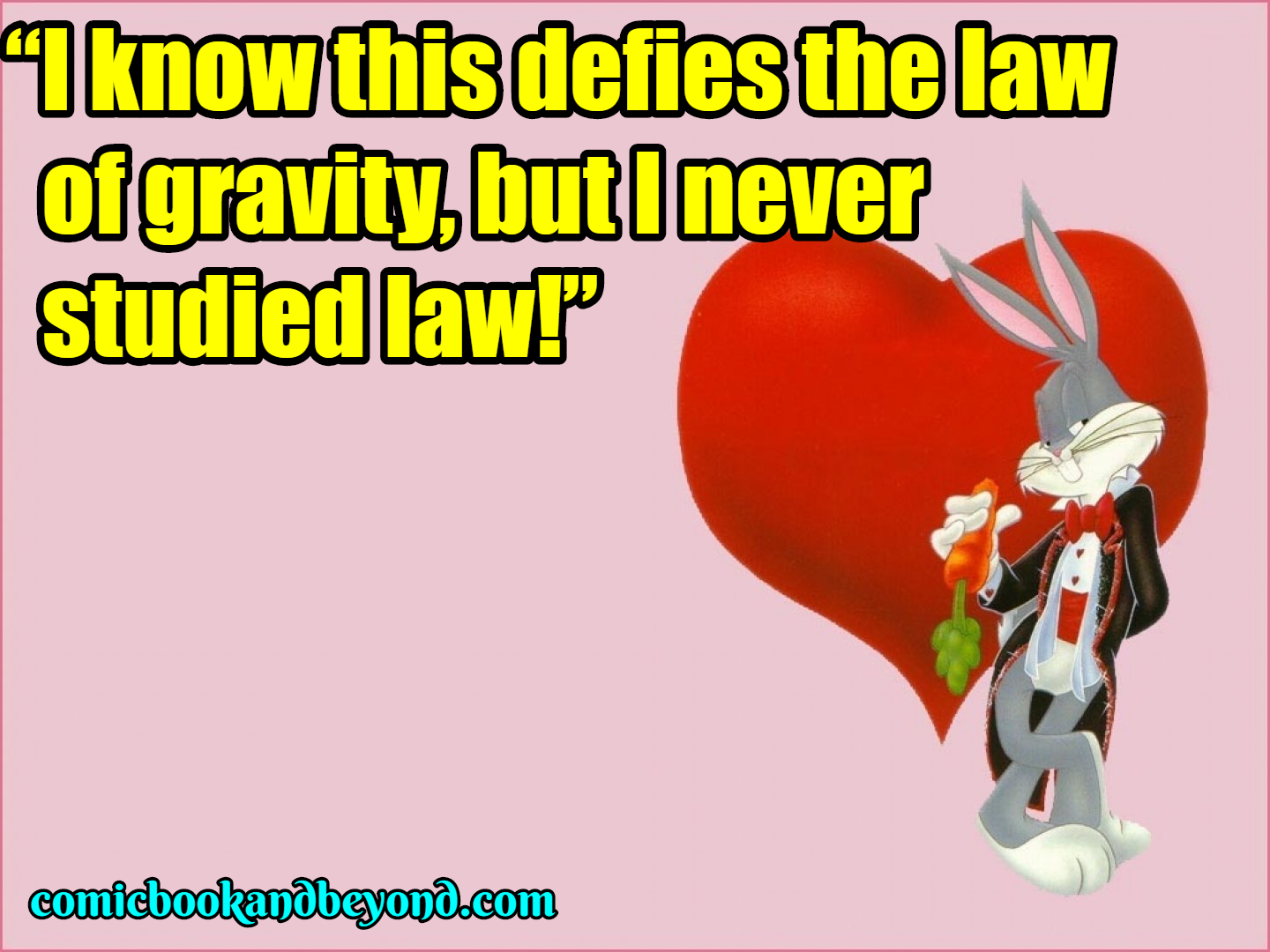 Bugs Bunny saying