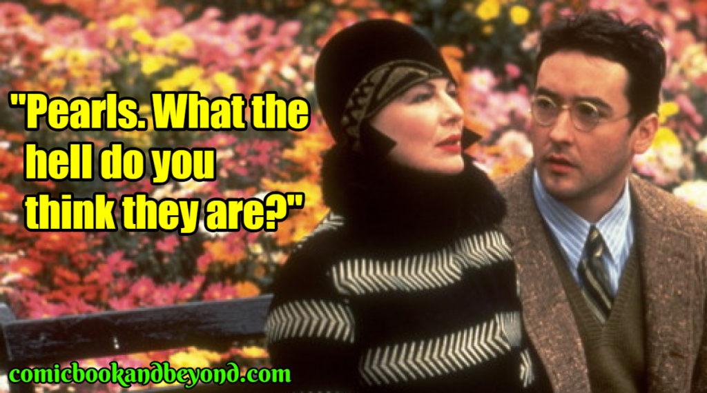 Bullets over Broadway best quotes