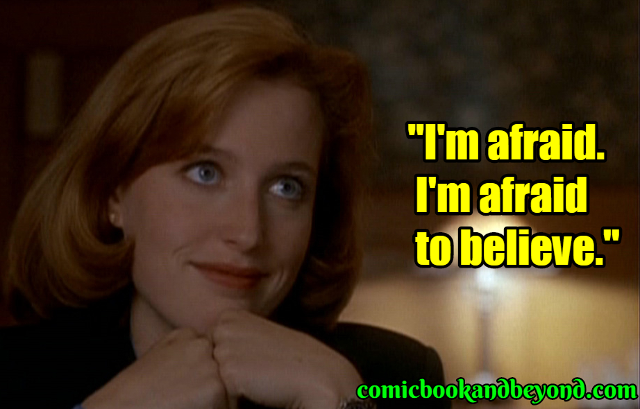Dana Scully best quotes