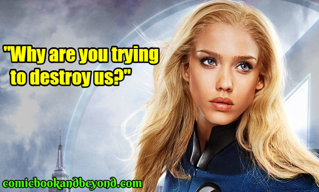 Fantastic Four Rise of the Silver Surfer best quotes