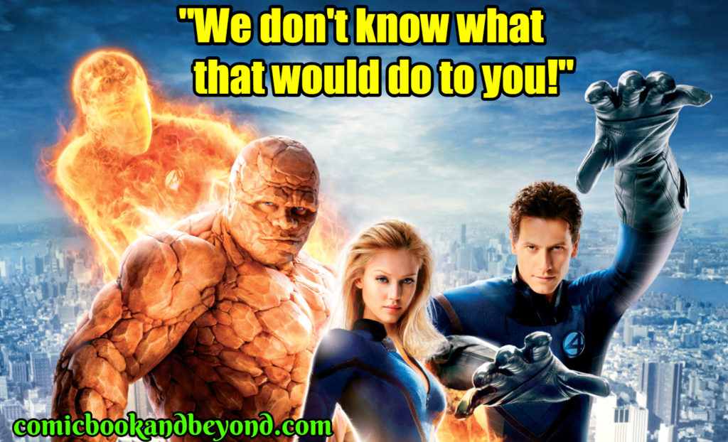 Fantastic Four Rise of the Silver Surfer famous quotes