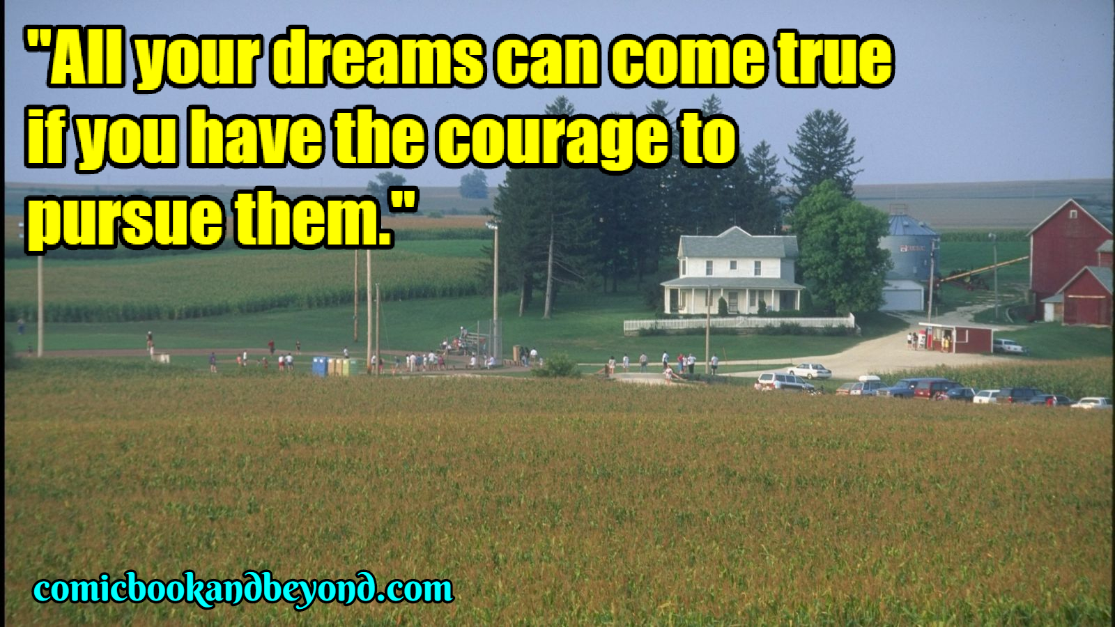 Field of Dreams' FAMOUS quotes (2)