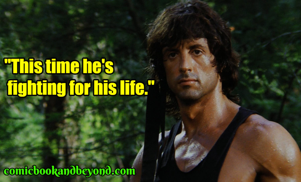 First Blood best quotes