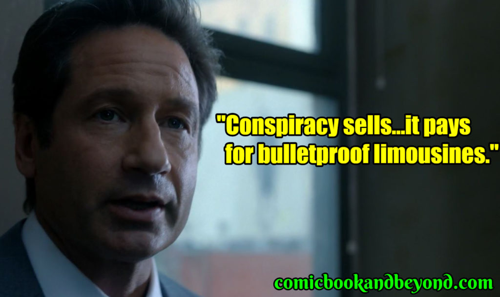 Fox Mulder best quotes