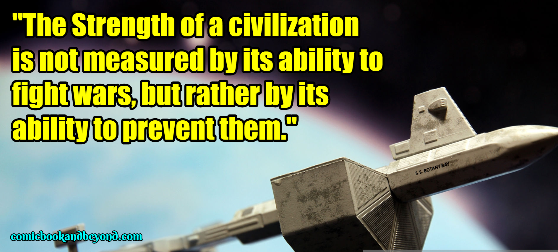 Gene Roddenberry famous Quotes (2)