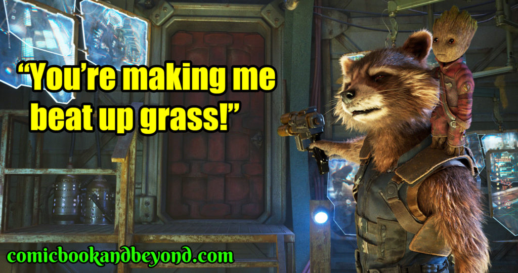 Guardians of the Galaxy populat quotes