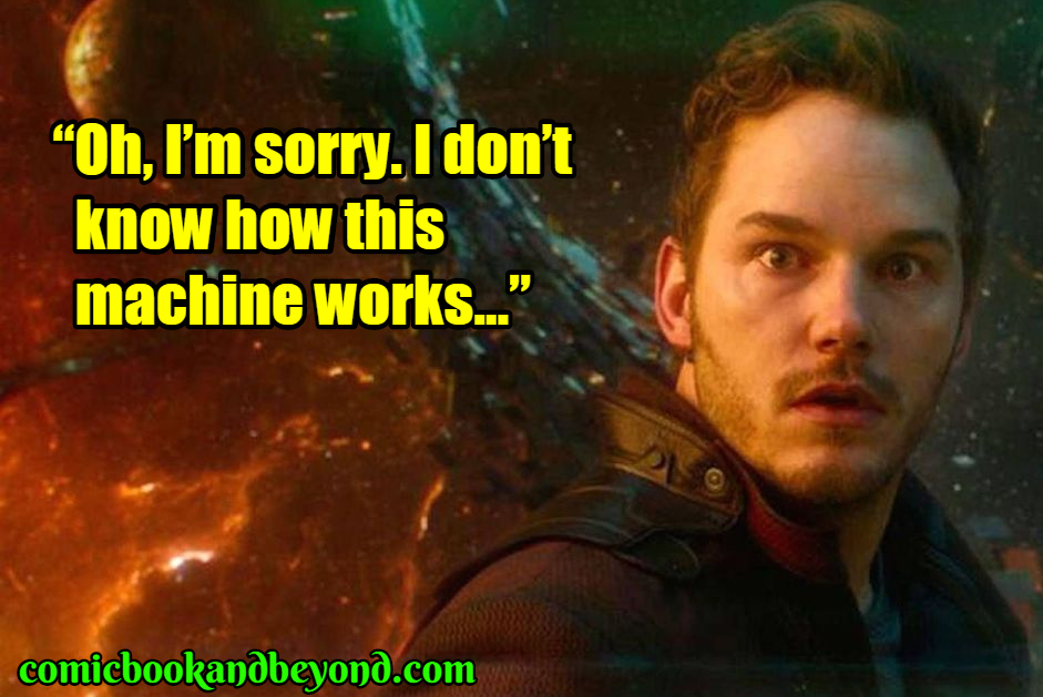 Guardians of the Galaxy saying