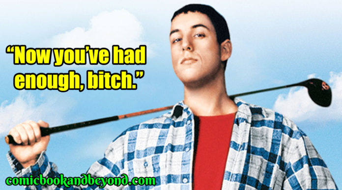 Happy Gilmore famous quotes