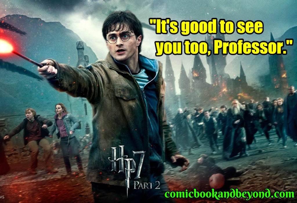 Harry Potter and the Deathly Hallows - Part 2 quotes