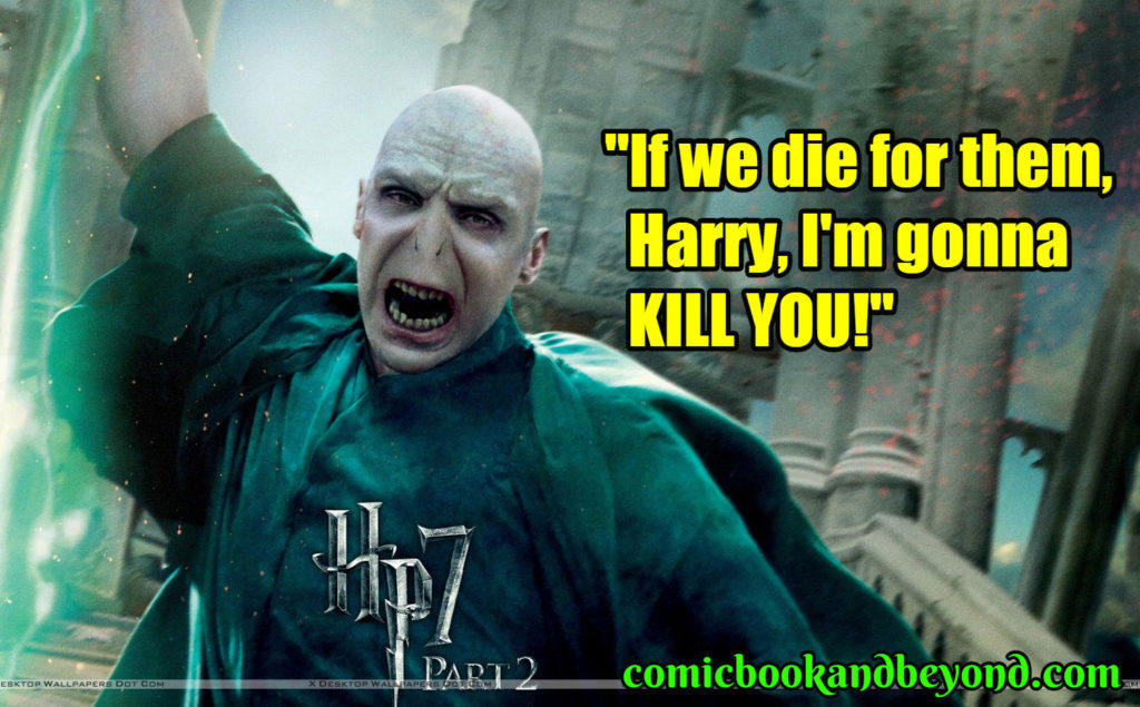 Harry Potter and the Deathly Hallows - Part 2 saying