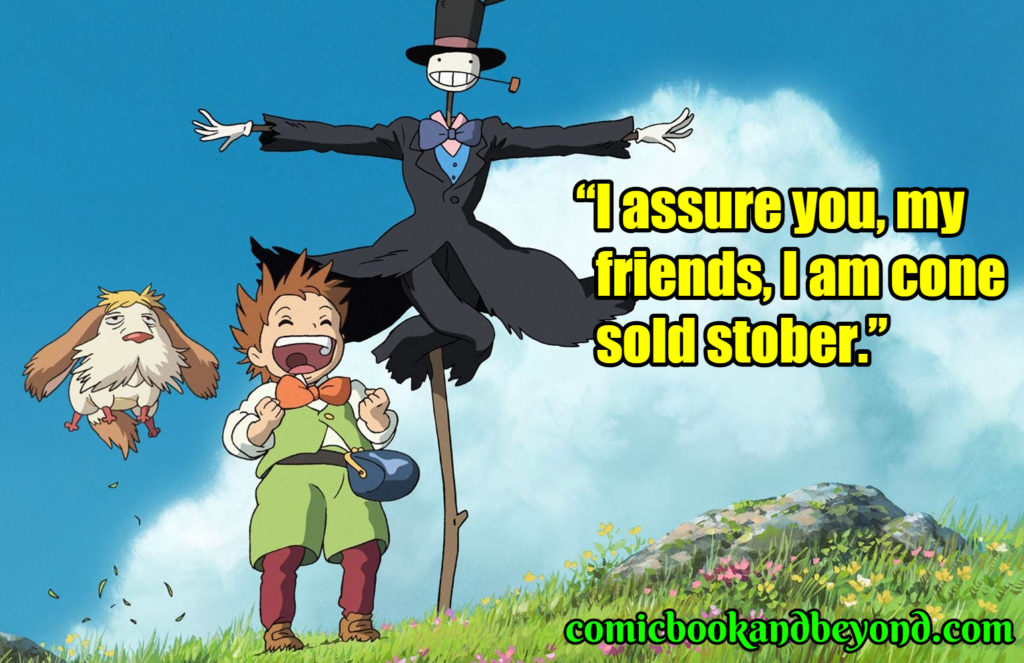 100+ Howl's Moving Castle Quotes Based On The 2004