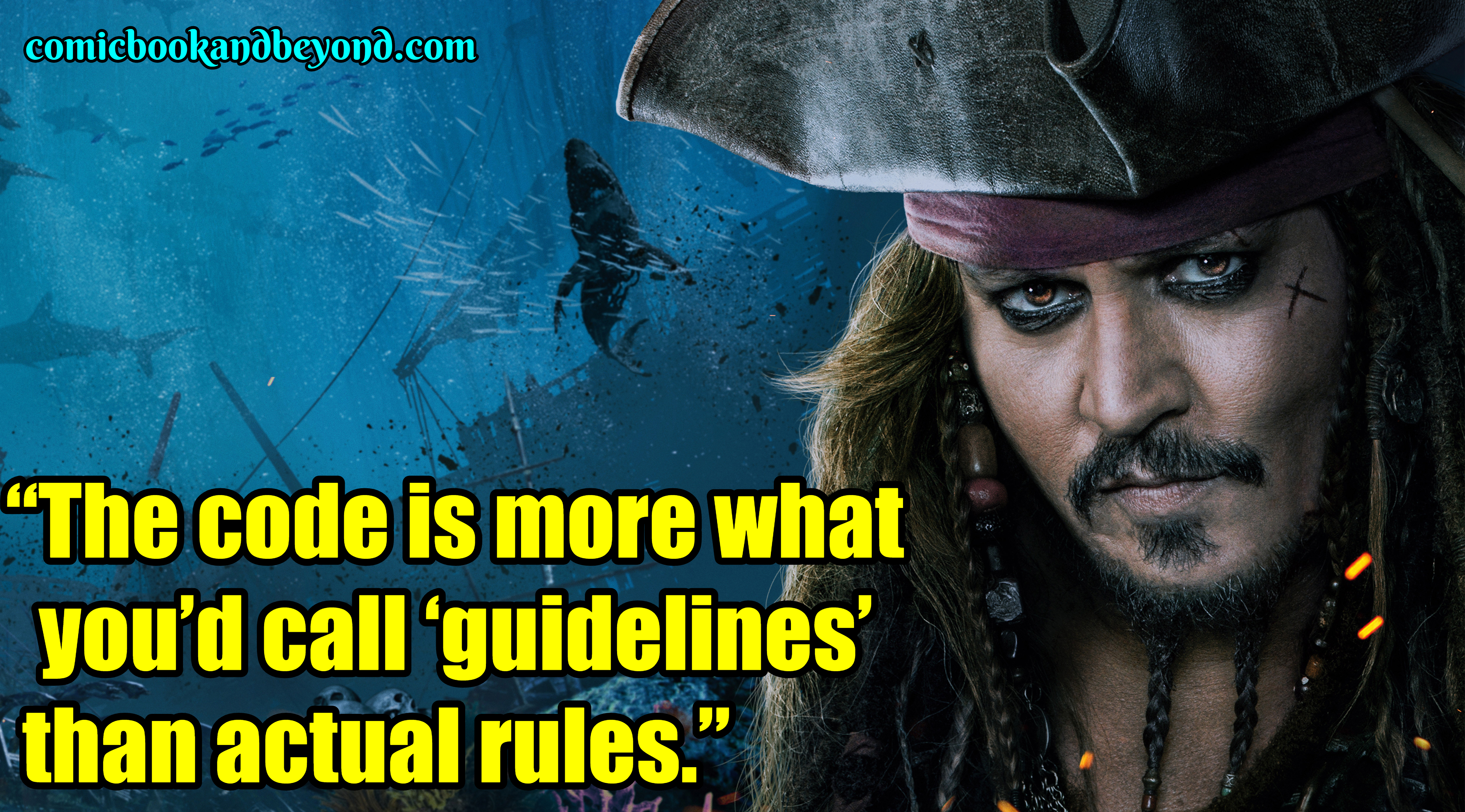80+ Jack Sparrow Quotes that makes him the witty Lord of ...