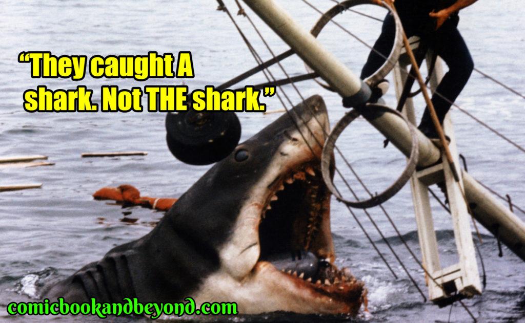 Jaws saying