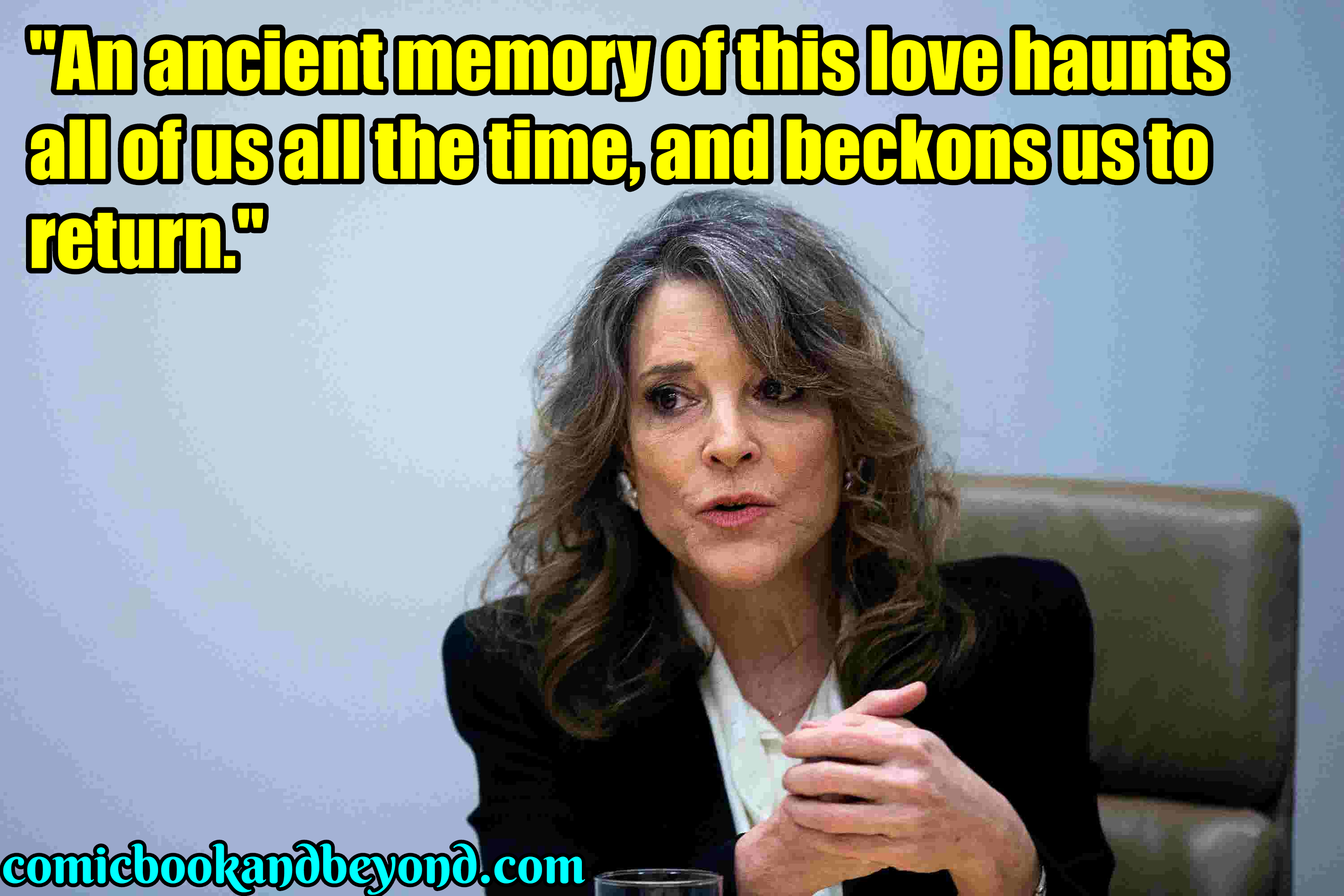 Marianne Williamson popular Quotes (1)