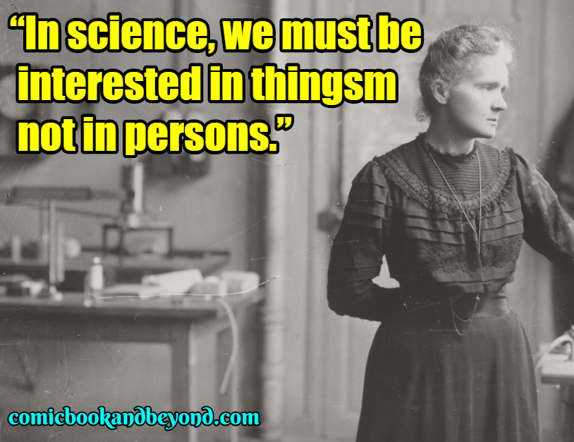 Marie Curie Quotes