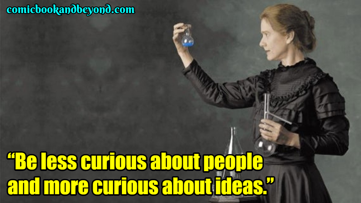 Marie Curie saying
