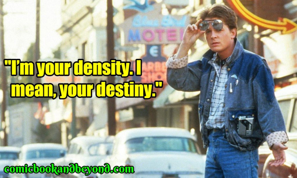 Marty McFly saying