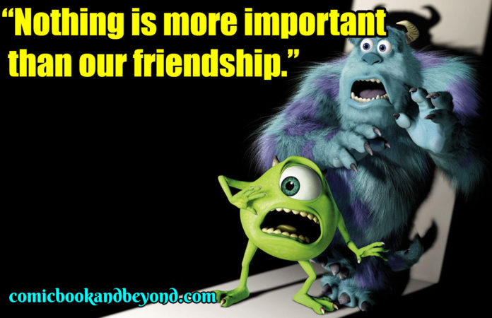 Monsters, Inc. famous Quotes