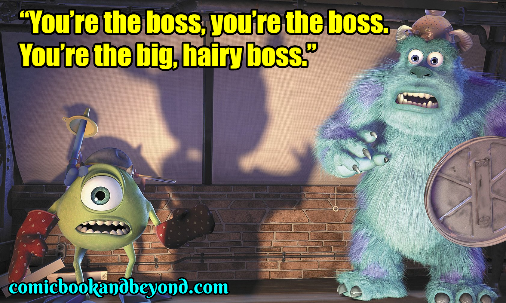 100+ Monsters, Inc  Quotes that shows the goodness of
