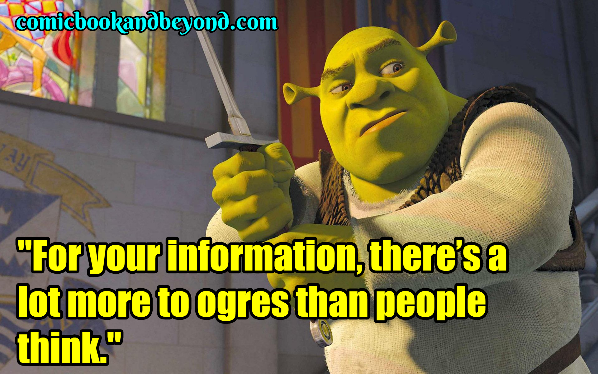 20+ Shrek Quotes About Everyones Favorite Jolly Green Ogre ...