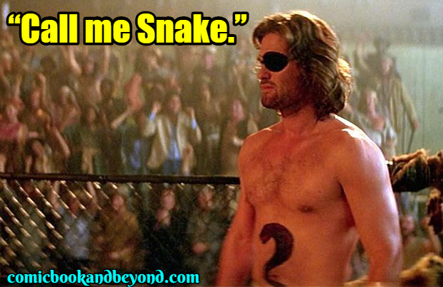 Snake Plissken Saying