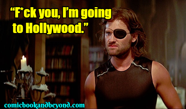 Snake Plissken famous Quotes (3)
