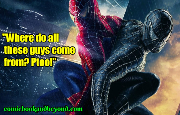 Spider-Man 3 best quotes