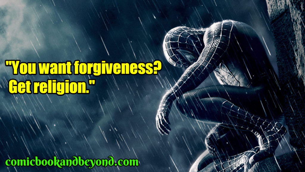 Spider-Man 3 popular quotes