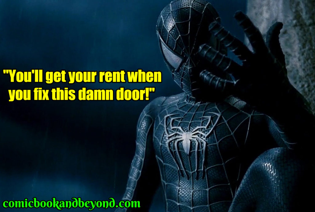 Spider-Man 3 quotes