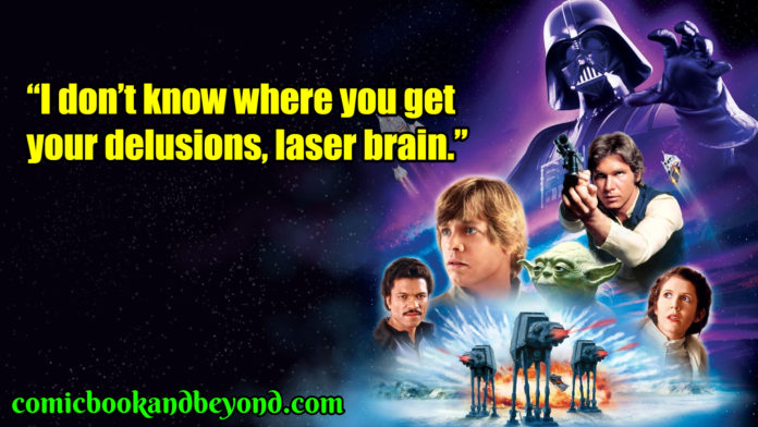 Star Wars Episode V The Empire Strikes Back popular quotes