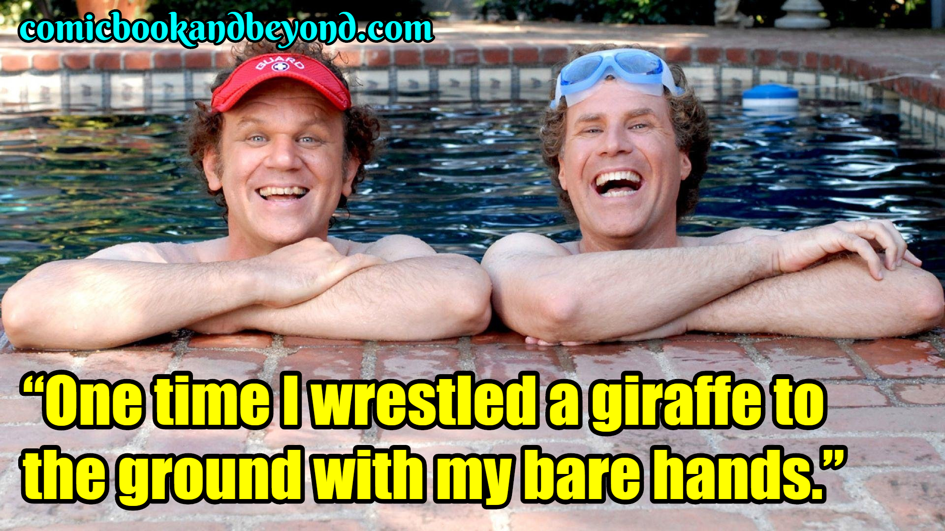Step Brothers saying