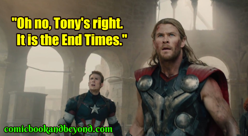The Avengers Age of Ultron famous quotes