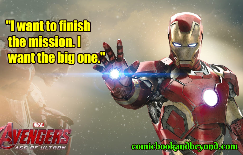 The Avengers Age of Ultron quotes