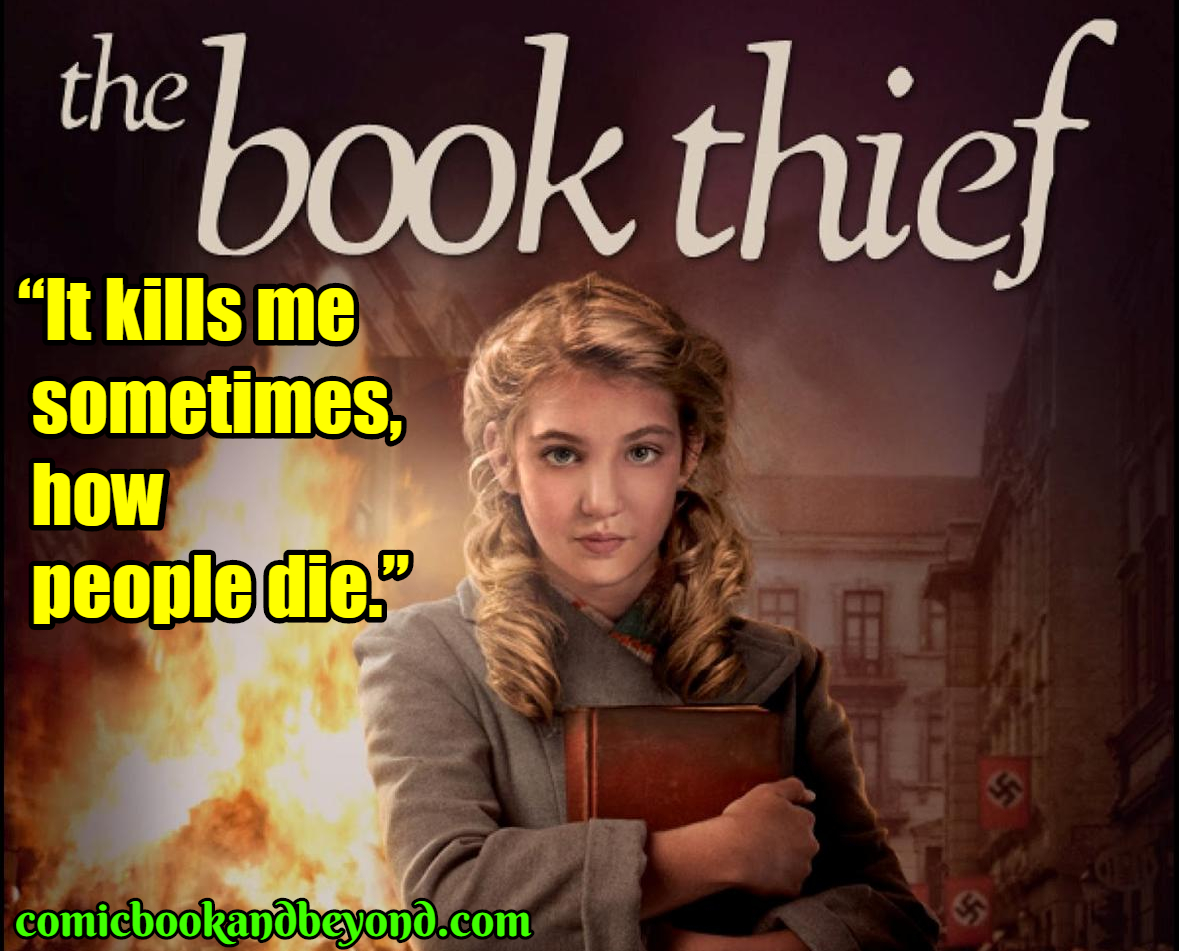 100+ The Book Thief Quotes Are Based On The Historical Novel ...