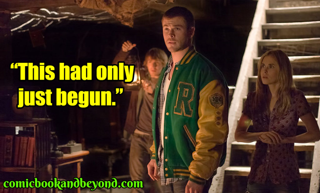 The Cabin in the Woods quotes