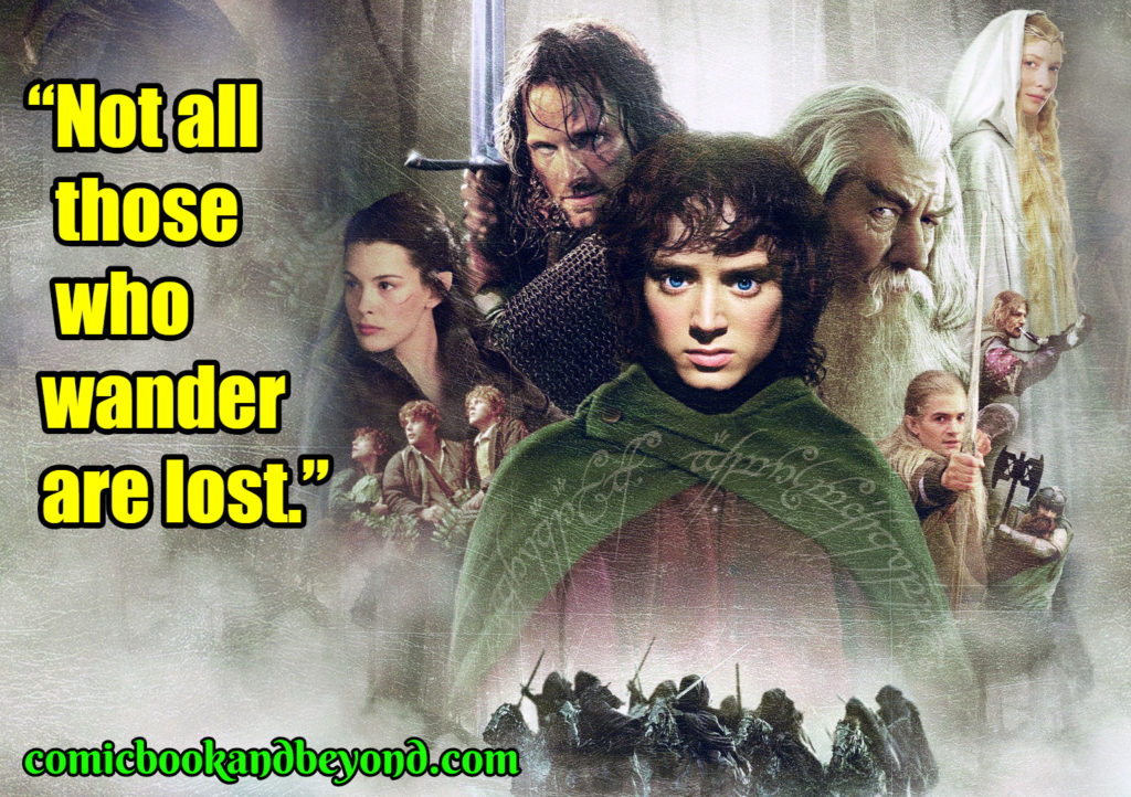 The Lord of the Rings The Fellowship of the Ring best quotes