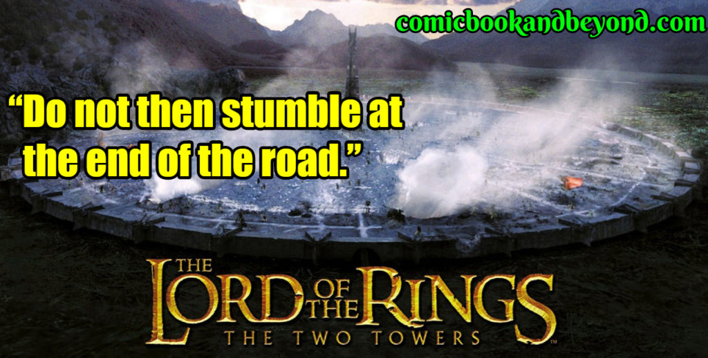 The Lord of the Rings The Two Towers quotes